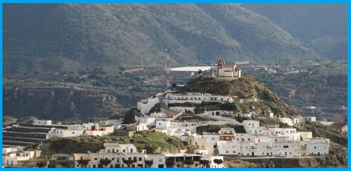 Canjáyar, pueblo donde estuvo de párroco Lisardo Carretero Fuentes hasta su detención