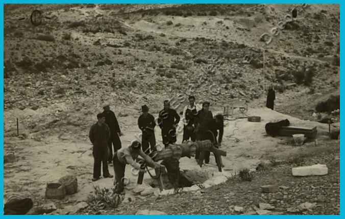 exhumación cuerpos del pozo al lagarta, tabernas, Almería