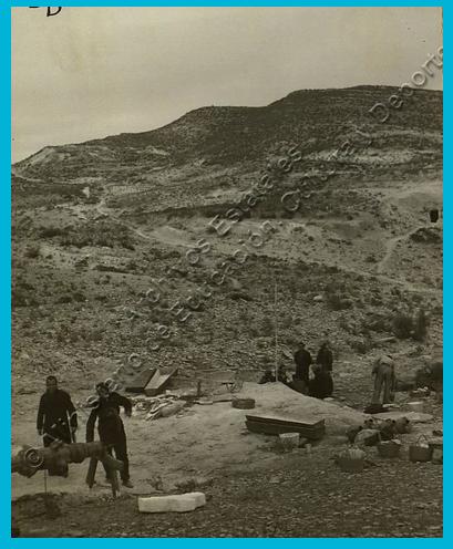 exhumacion de los cuerpos encontrados en el pozo de La Lagarta, Tabernas, Almería